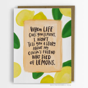card lemons