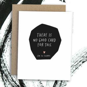 no good card